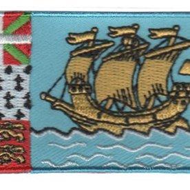 flag patch Saint Pierre and Miquelon