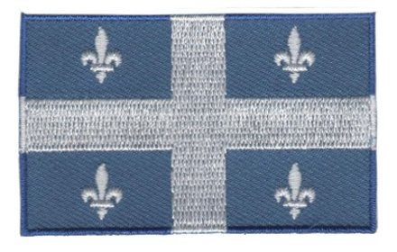 Flagge Patch Quebec