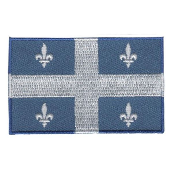 BACKPACKFLAGS flag patch Quebec
