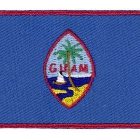 BACKPACKFLAGS flag patch Guam