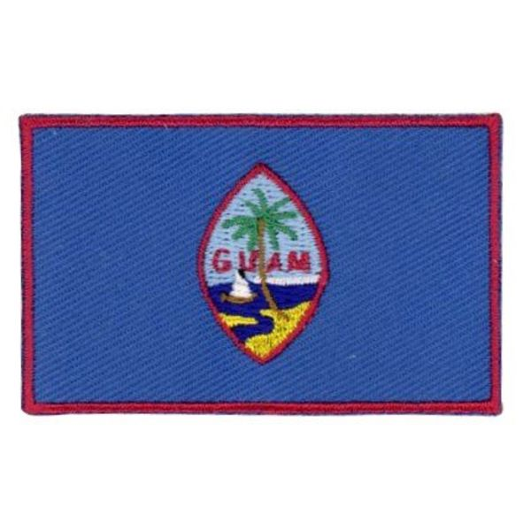 Flaggen-Patch Guam