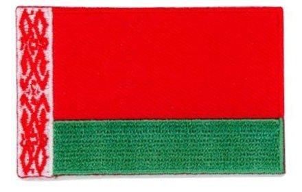 vlag patch Wit-Rusland