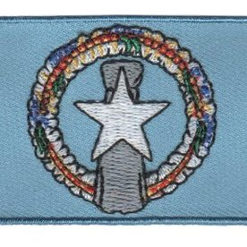 BACKPACKFLAGS flag patch Northern Mariana Islands