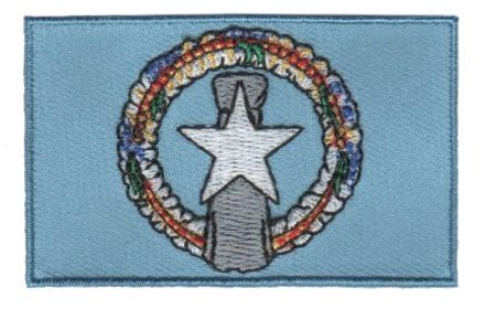 flag patch Nördliche Marianen