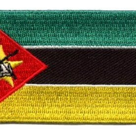 BACKPACKFLAGS flag patch Mozambique