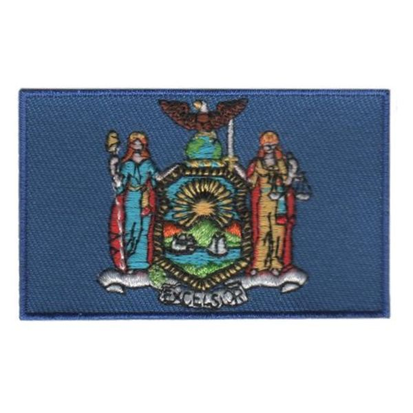 BACKPACKFLAGS flag patch New York