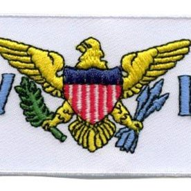 flag patch Virgin Islands (US)