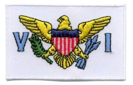 vlag patch Amerikaanse Maagdeneilanden