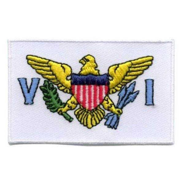 BACKPACKFLAGS flag patch Virgin Islands (US)