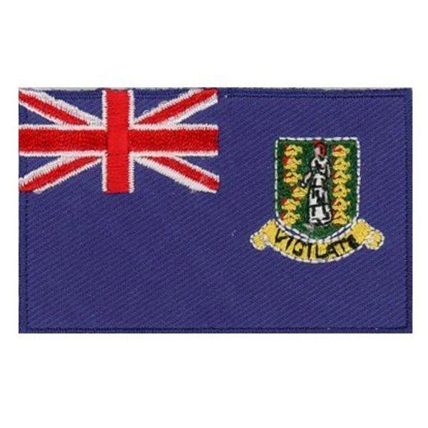 BACKPACKFLAGS flag patch Virgin Islands (UK)