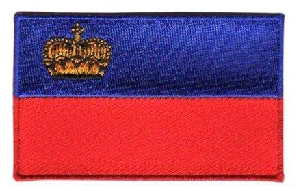 flag patch Liechtenstein