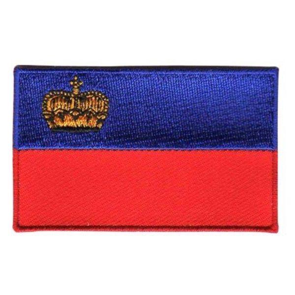 BACKPACKFLAGS flag patch Liechtenstein