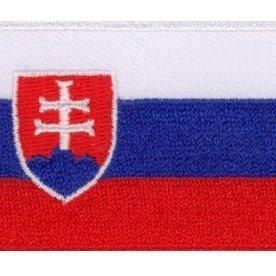 Flaggenpatch Slowakei