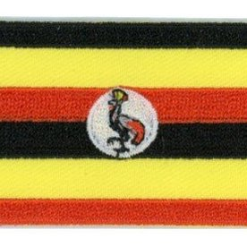 BACKPACKFLAGS flag patch Uganda