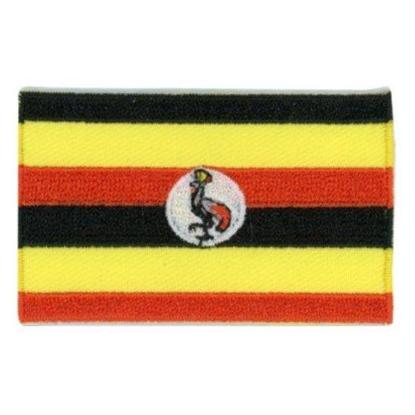 Flaggen-Patch Uganda