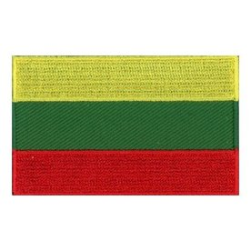 BACKPACKFLAGS flag patch Lithuania