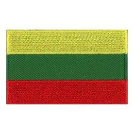 flag patch Litauen