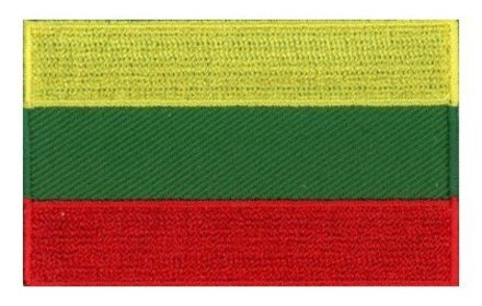 flag patch Lithuania