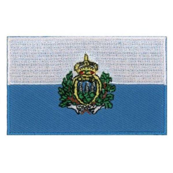 BACKPACKFLAGS flag patch San Marino