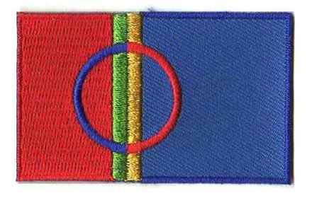 Flaggenpatch Sami