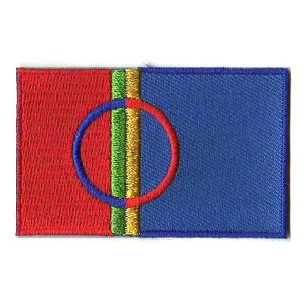 BACKPACKFLAGS flag patch Sami