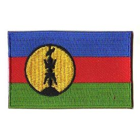 BACKPACKFLAGS flag patch New Caledonia