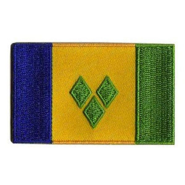 BACKPACKFLAGS flag patch Saint Vincent and the Grenadines