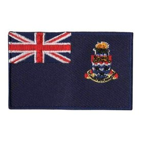BACKPACKFLAGS flag patch Cayman Islands