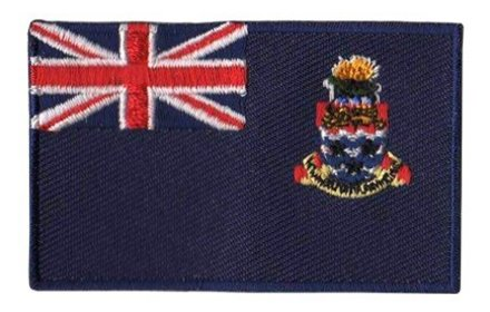 flag patch Cayman Islands