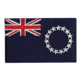 BACKPACKFLAGS flag patch Cook Islands