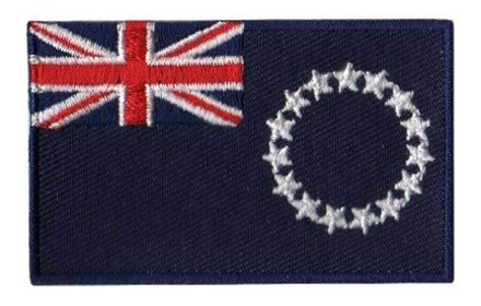vlag patch Cook Eilanden