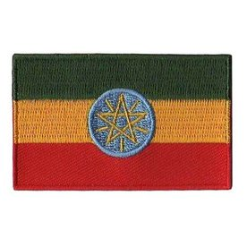 BACKPACKFLAGS flag patch Ethiopia