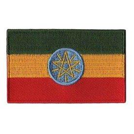 Flagge Patch Äthiopien