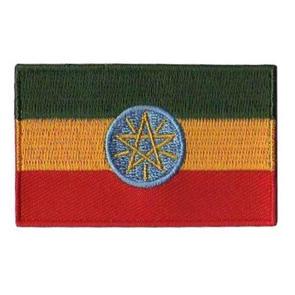 flag patch Ethiopia