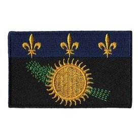 BACKPACKFLAGS flag patch Guadeloupe