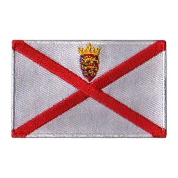 BACKPACKFLAGS flag patch Jersey Island