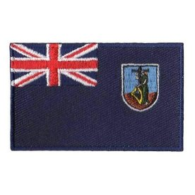 BACKPACKFLAGS flag patch Montserrat