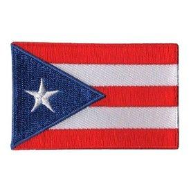 Flaggenpatch Puerto Rico