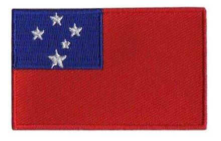 Flagge Patch Samoa