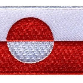 BACKPACKFLAGS flag patch Greenland