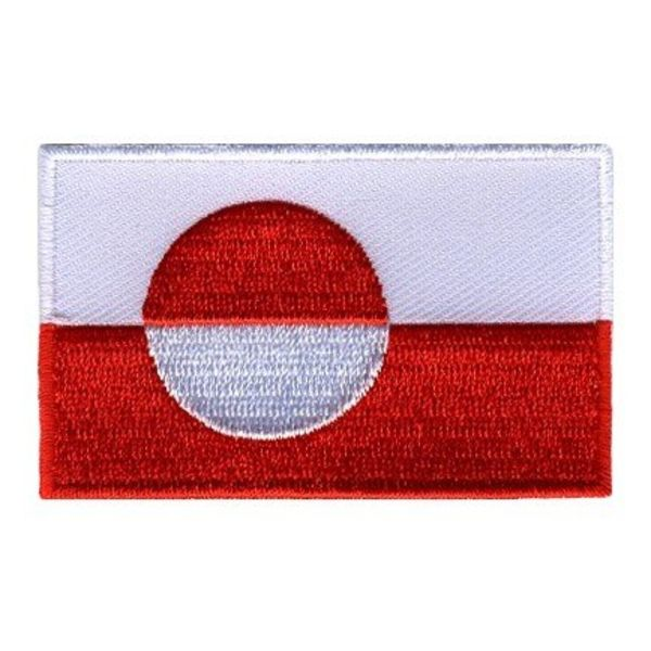 flag patch Greenland