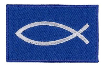 vlag patch christen