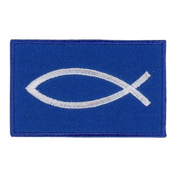 flag patch Christian