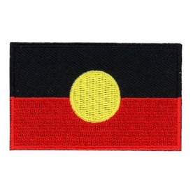 BACKPACKFLAGS flag patch Aboriginal