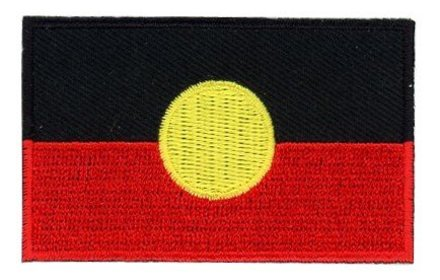 flag patch Aboriginal