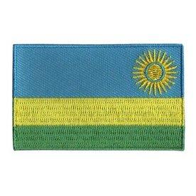 Flaggenpatch Ruanda