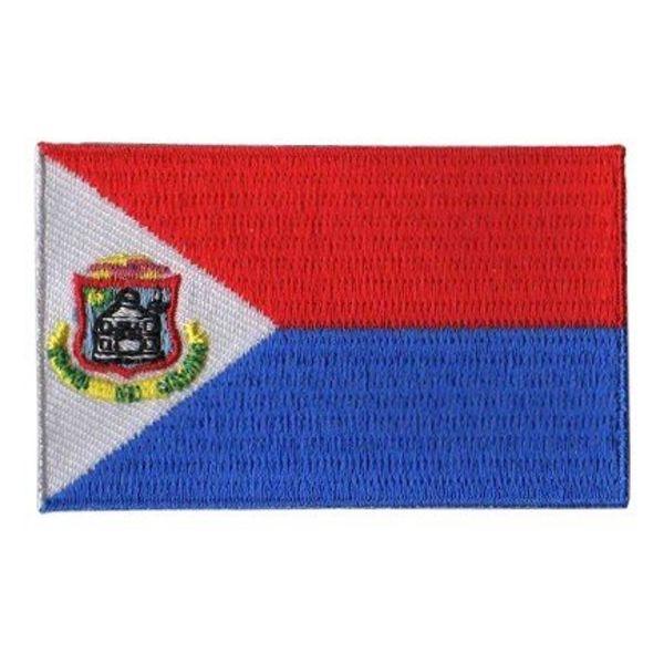BACKPACKFLAGS flag patch St. Maarten