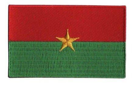 flag patch Burkina Faso