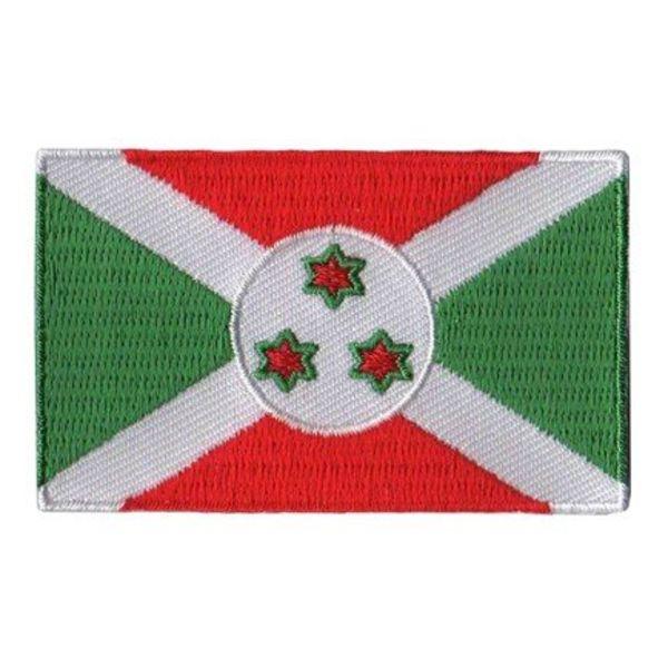 Flaggenpatch Burundi