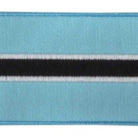 BACKPACKFLAGS flag patch Botswana